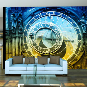 Fototapete - Astronomische Uhr - Prag
