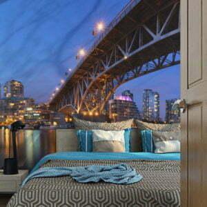 Fototapete - Granville Bridge - Vancouver (Canada)