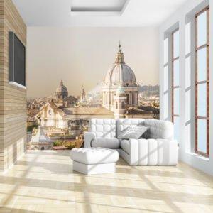 Fototapete - Rom und Sicht aus der Vogelperspektive