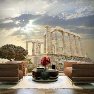 Fototapete - Griechische Akropolis