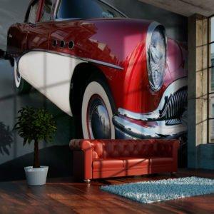 Fototapete - Amerikanisches Luxusauto