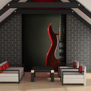 Fototapete - E-Gitarre