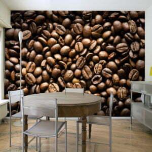 Fototapete - Roasted coffee beans