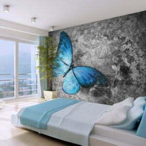 Fototapete - Blue butterfly