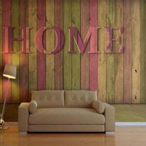 Fototapete - house (pink)