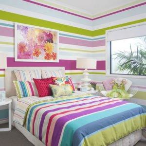 Fototapete - Bright stripes