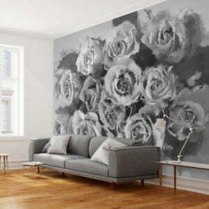 Fototapete - A dozen roses