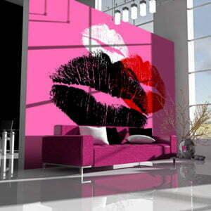 Fototapete - Drei Küsse