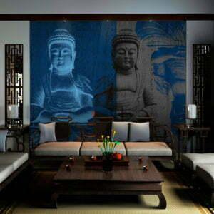 Fototapete - Drei Inkarnationen des Buddha