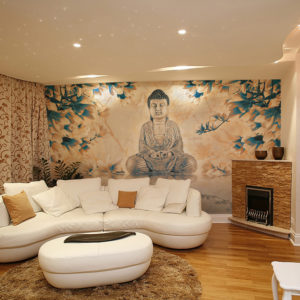 Fototapete - Buddha of prosperity