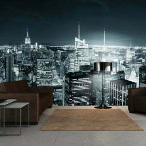 XXL Tapete - Das dynamische Nachtleben in New York City