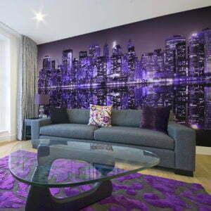XXL Tapete - American violet