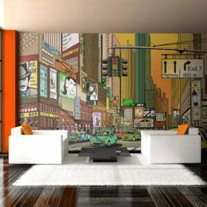 XXL Tapete - New York - dynamische Stadt