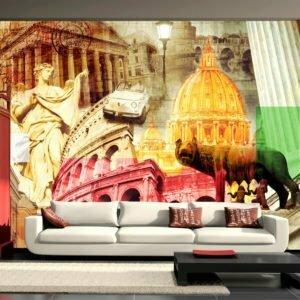 Fototapete - Rom - Collage