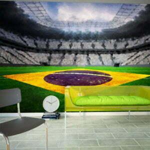 Fototapete - Brasilianisches Stadion