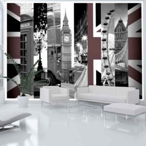 Fototapete - London Symbole
