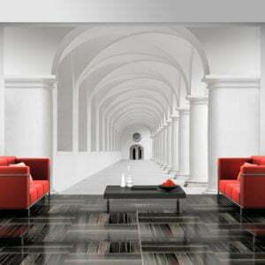 Fototapete - Corridor of uncertainty