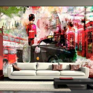 Fototapete - Streets of London