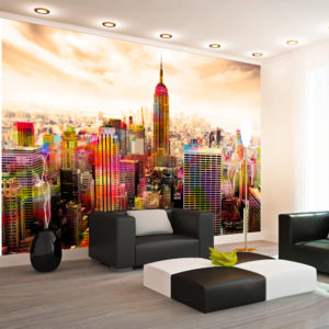 Fototapete - Colors of New York City III