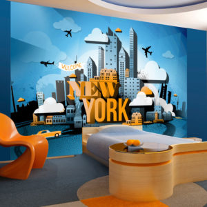 Fototapete - New York - welcome