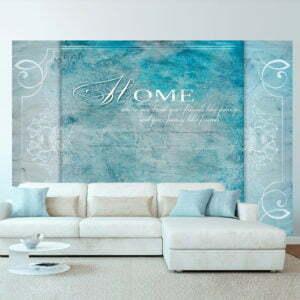 Fototapete - Home, where you ...