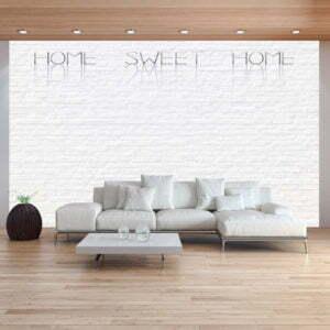 Fototapete - Home, sweet home - wall