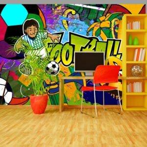 Fototapete - Football Cup