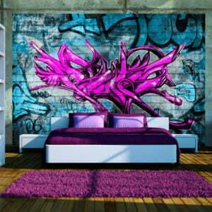 Fototapete - Anonymous graffiti