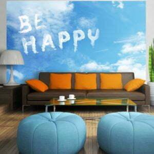 Fototapete - Be happy