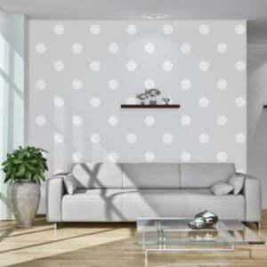 Fototapete - Cheerful polka dots