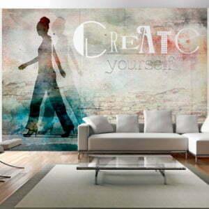 Fototapete - Create yourself