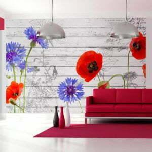 Fototapete - Wildflowers