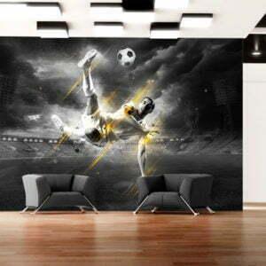 Fototapete - Fußball-Legende