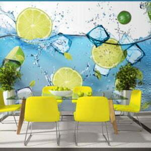 Fototapete - Erfrischende Limonade