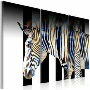 Wandbild - Streifen - Triptychon