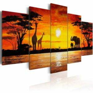 Wandbild - Heiße Safari