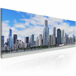 Wandbild - Big city - big hopes