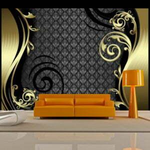 Fototapete - Golden curtain