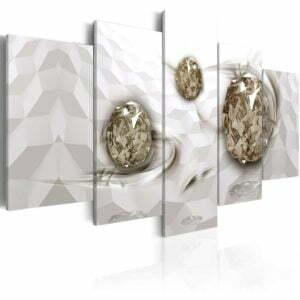 Wandbild -  Immersed Gold