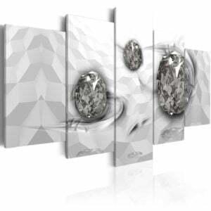 Wandbild -  Immersed Silver