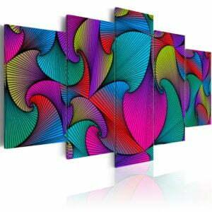 Wandbild - Carousel of Colours