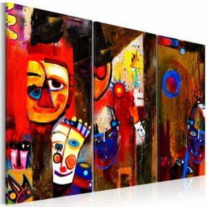 Gemaltes Bild - Abstract Carnival