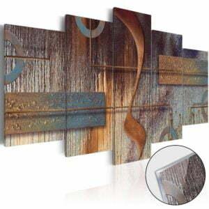 Acrylglasbild -  Oriental Composition [Glass]