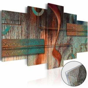 Acrylglasbild - Abstract Melody [Glass]