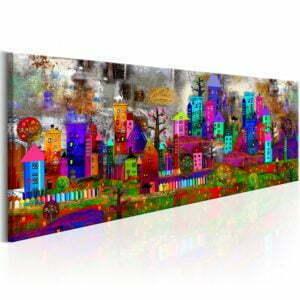 Wandbild - Fantasy City