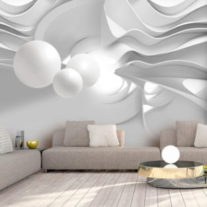 Fototapete - White Corridors