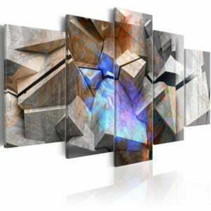 Wandbild - Abstract Cubes