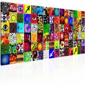 Wandbild - Colourful Abstraction