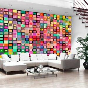 Fototapete - Colourful Boxes
