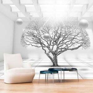 Fototapete - Tree of Future